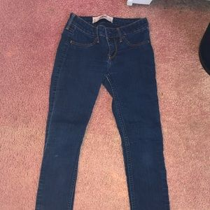 Size 1 Dark Wash Holister Jeggings